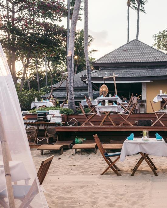 Restaurant at Buri Rasa
