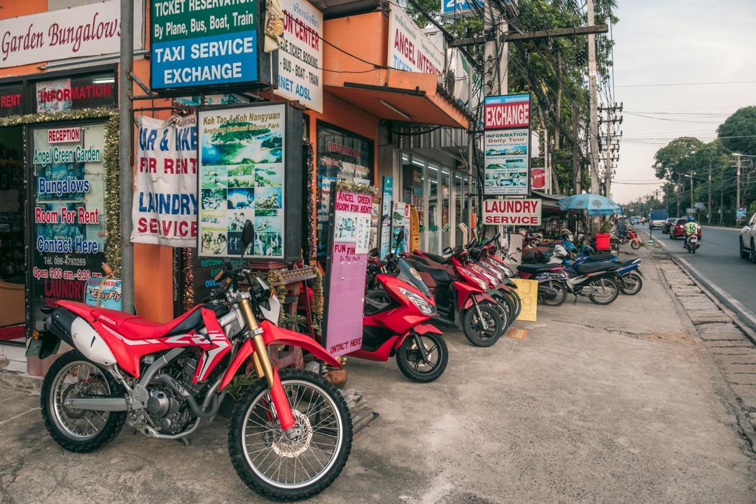 Scooter rental Samui