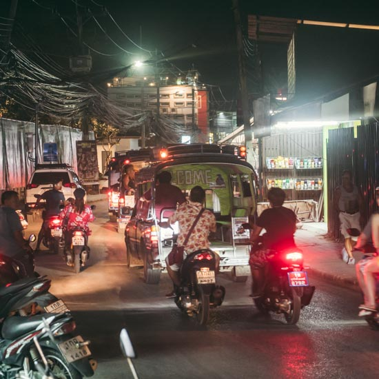 Driving Koh Samui