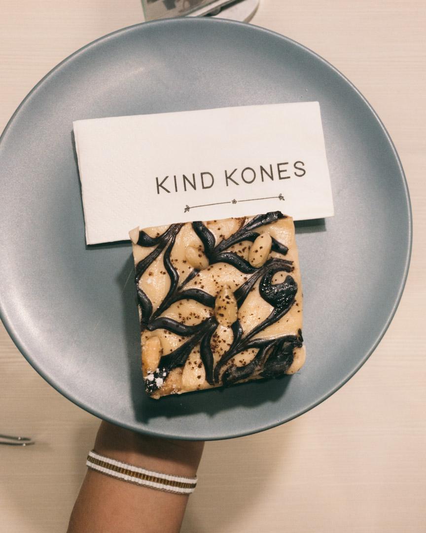 Kind Kones in Bangsar cake