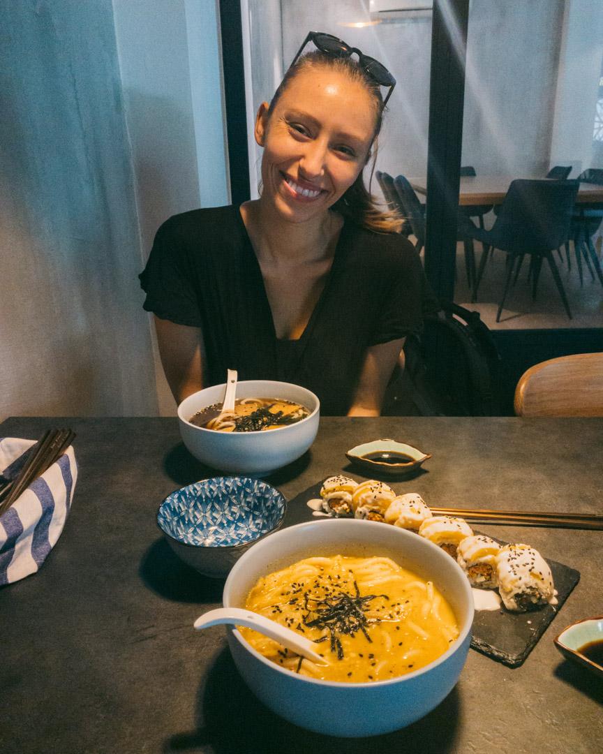 Vegan Japanese food in Kuala Lumpur