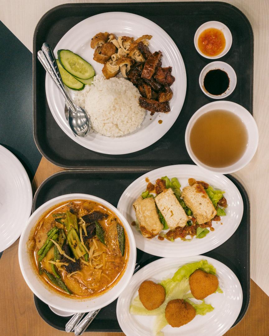 KLIA2 vegan food hall