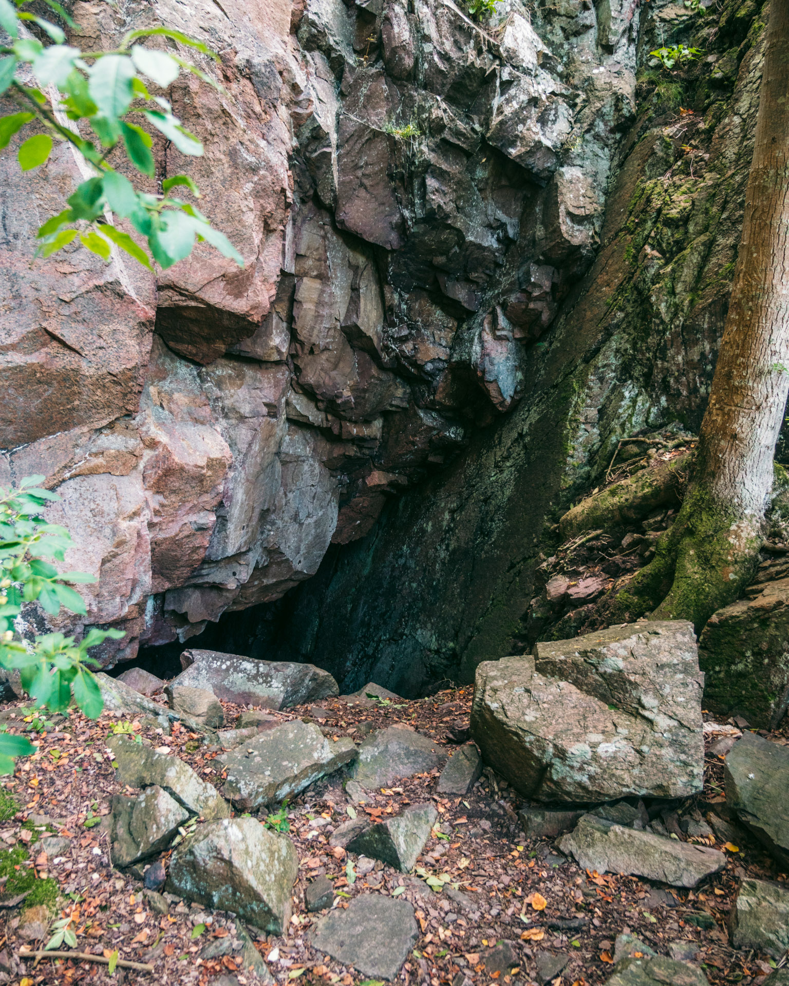 Caves at Kullaberg