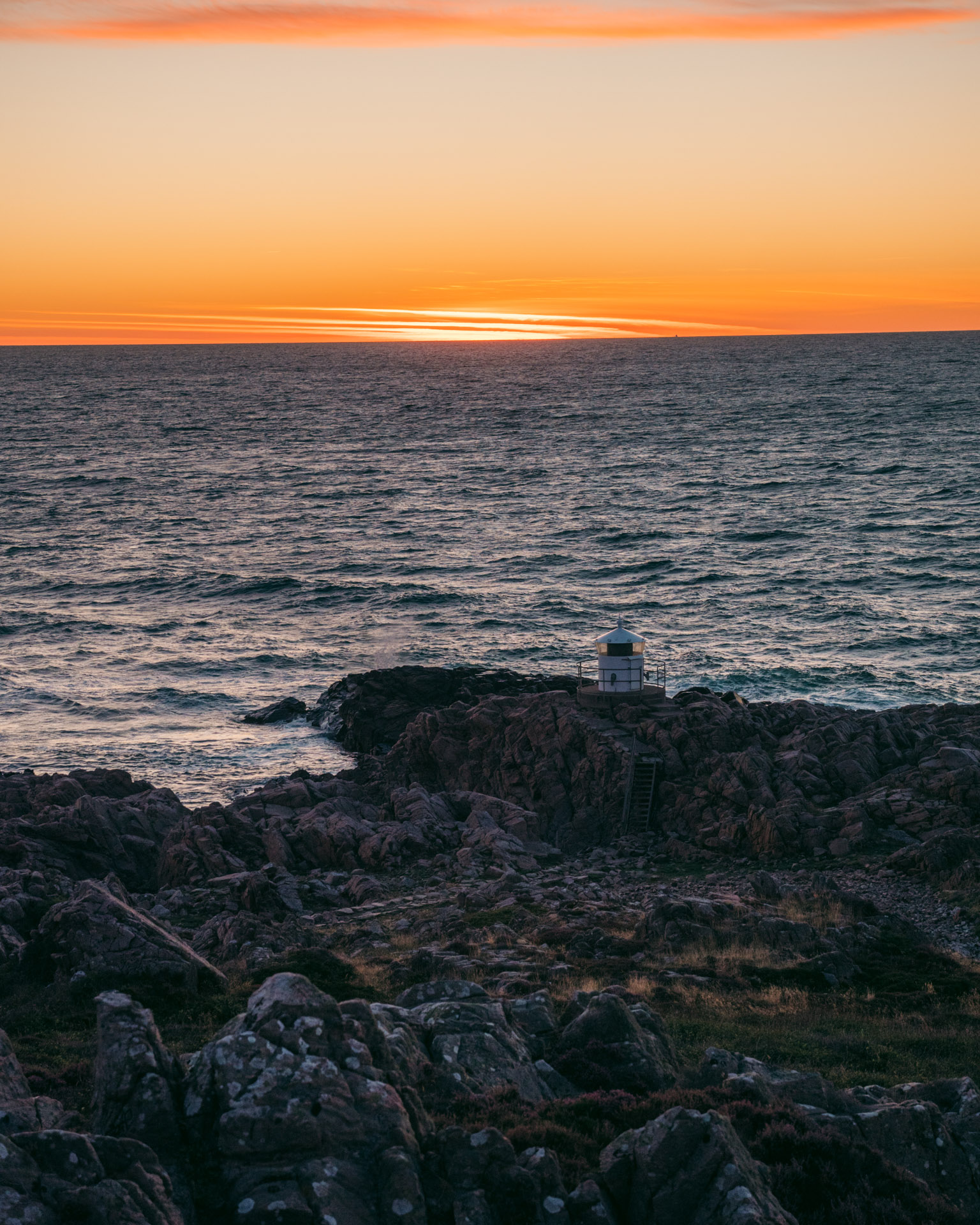 Sunset at Kullaberg Lighthouse