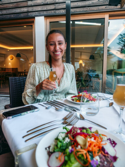 Five-course all-vegan dinner at LA VIMEA