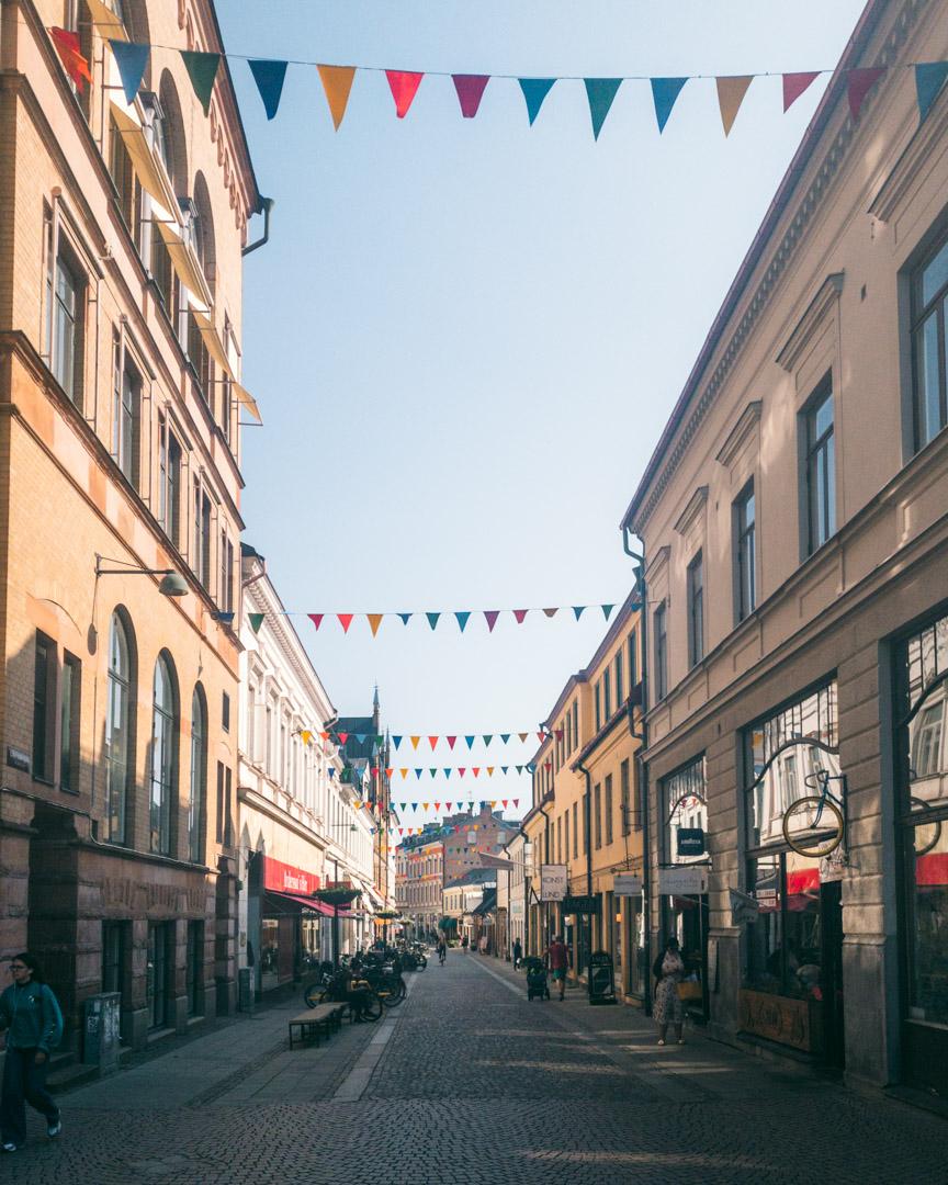 Lund shopping street