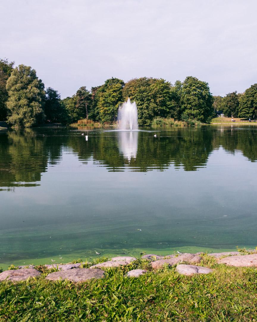 Slottsparken in Malmö