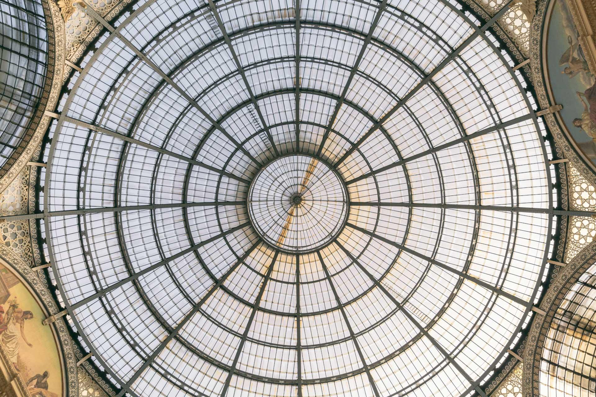 Galleria Vittorio Emanuele II roof