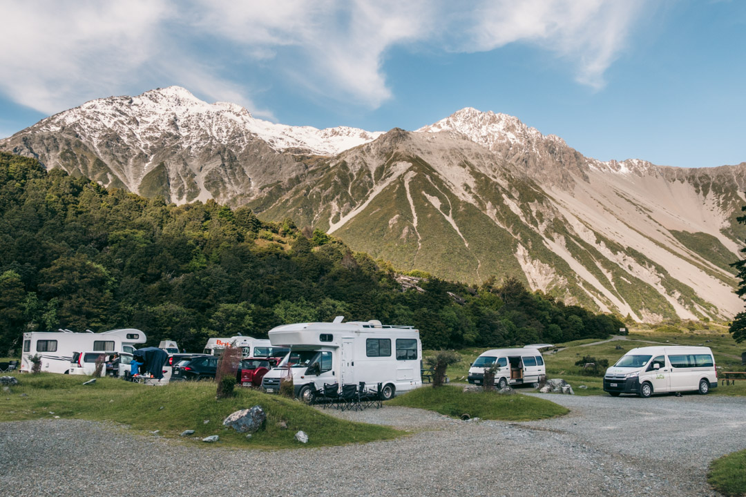 New Zealand campervans and motorhomes
