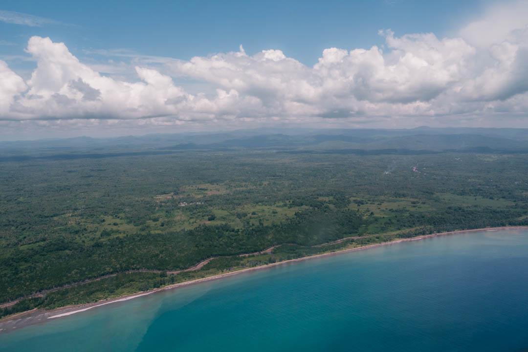 Nias' coastline