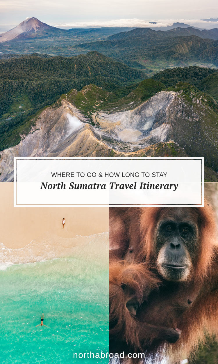 Travel Itinerary for North Sumatra, Indonesia
