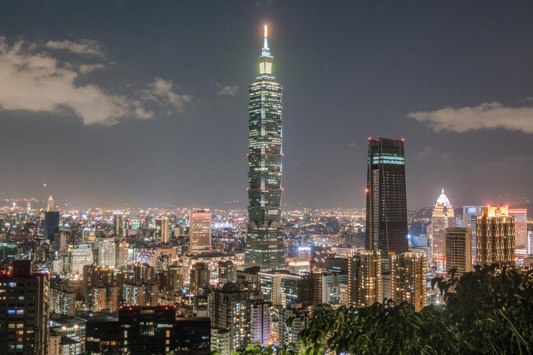 The iconic Taipei 101