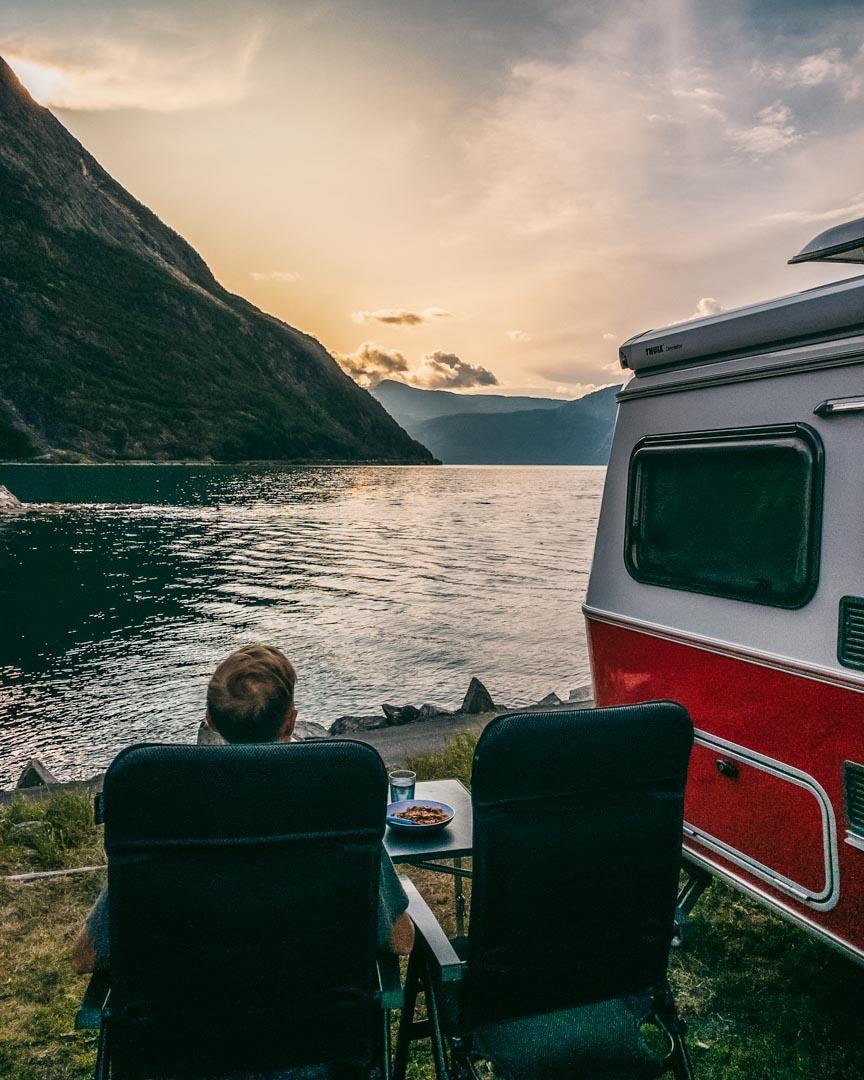 Camping in Eidfjord