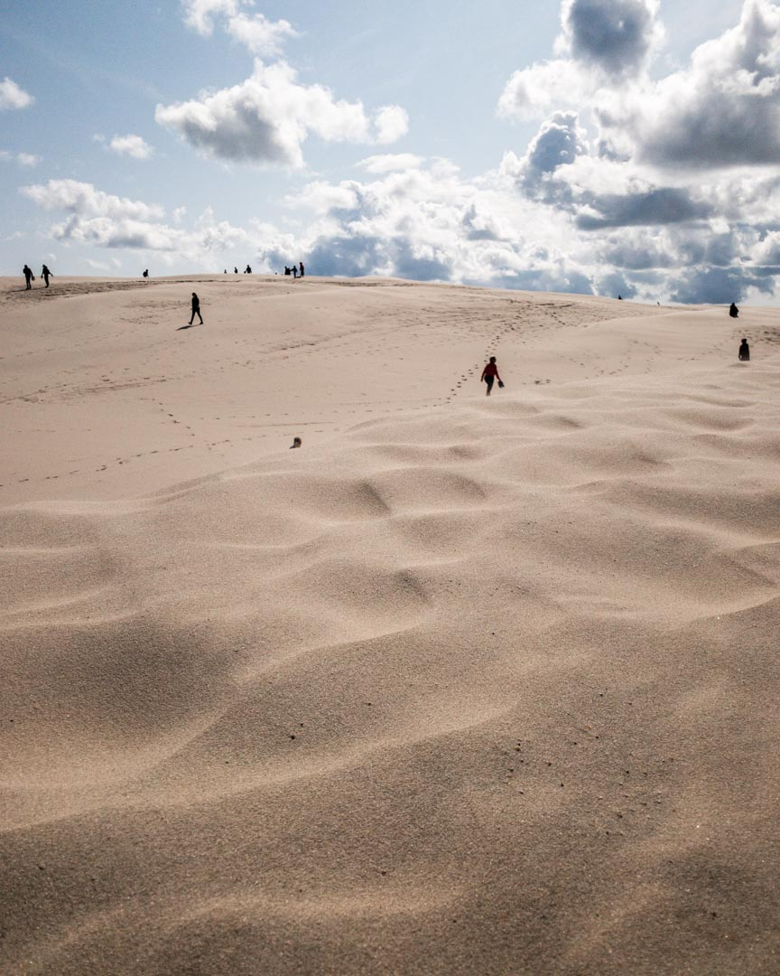 The Migrating Dune