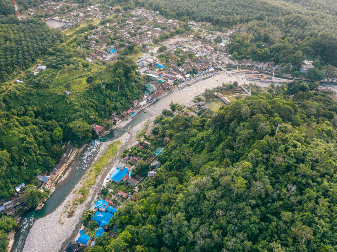 Bukit Lawang from above