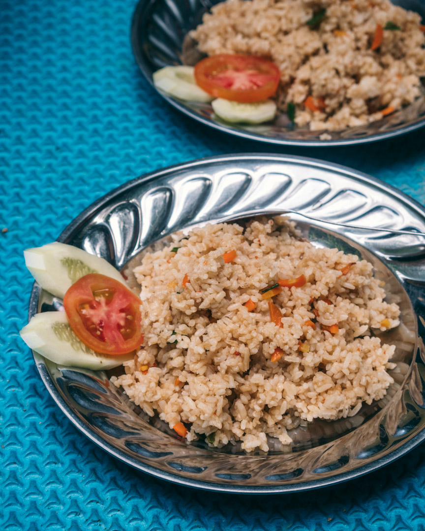 Nasi goreng aka fried rice