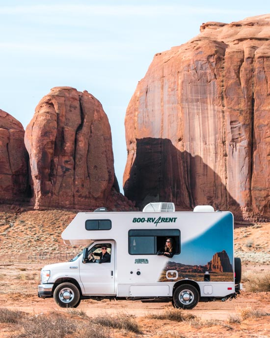Autocamper in the US