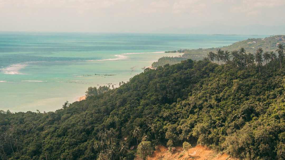 Koh Samui best viewpoint from Overlap Stone