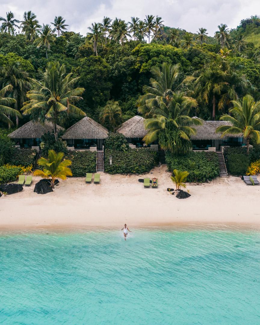 Bungalows at Pacific Resort Aitutaki