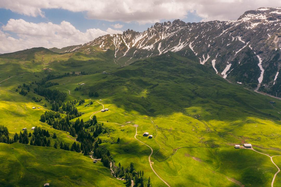 Paradiso Pure.Living drone landscape