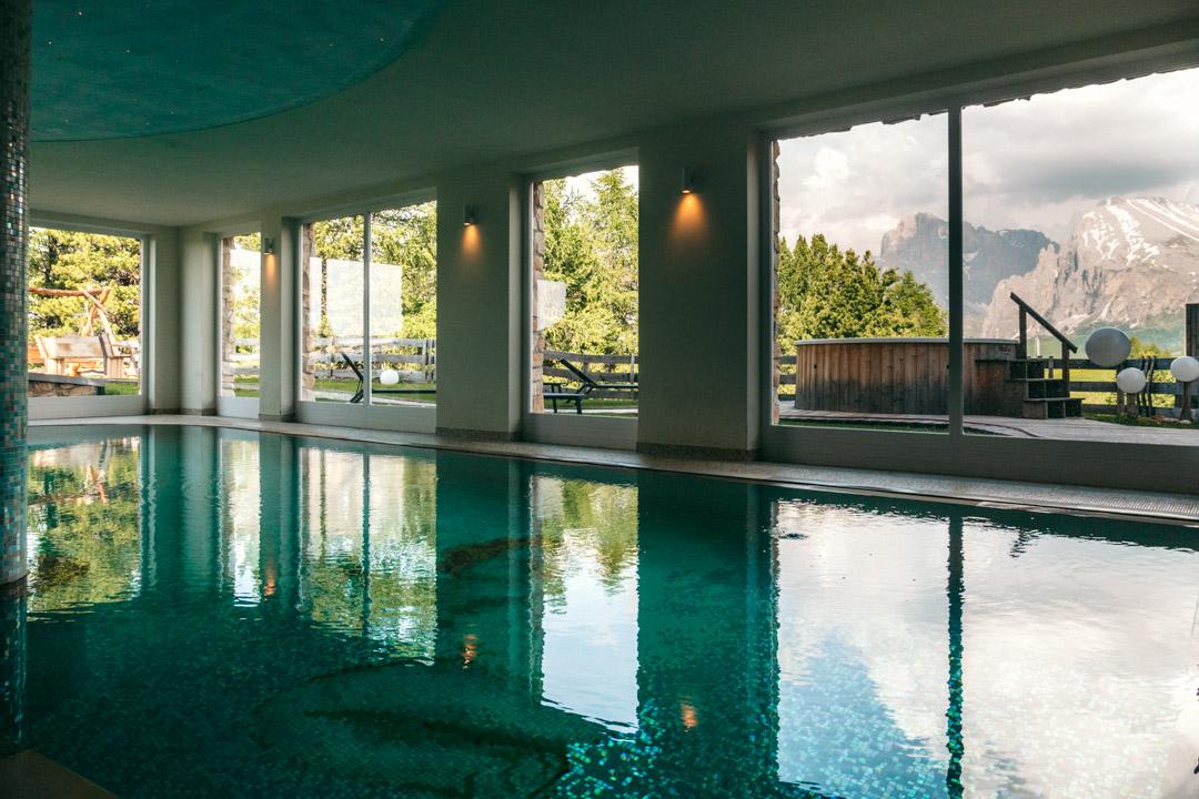 Big indoor pool