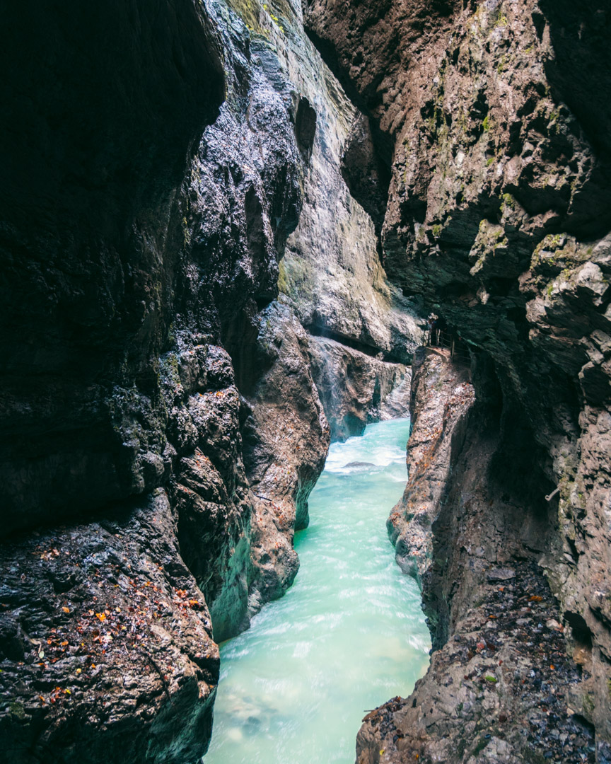 Visiting the Partnach Gorge