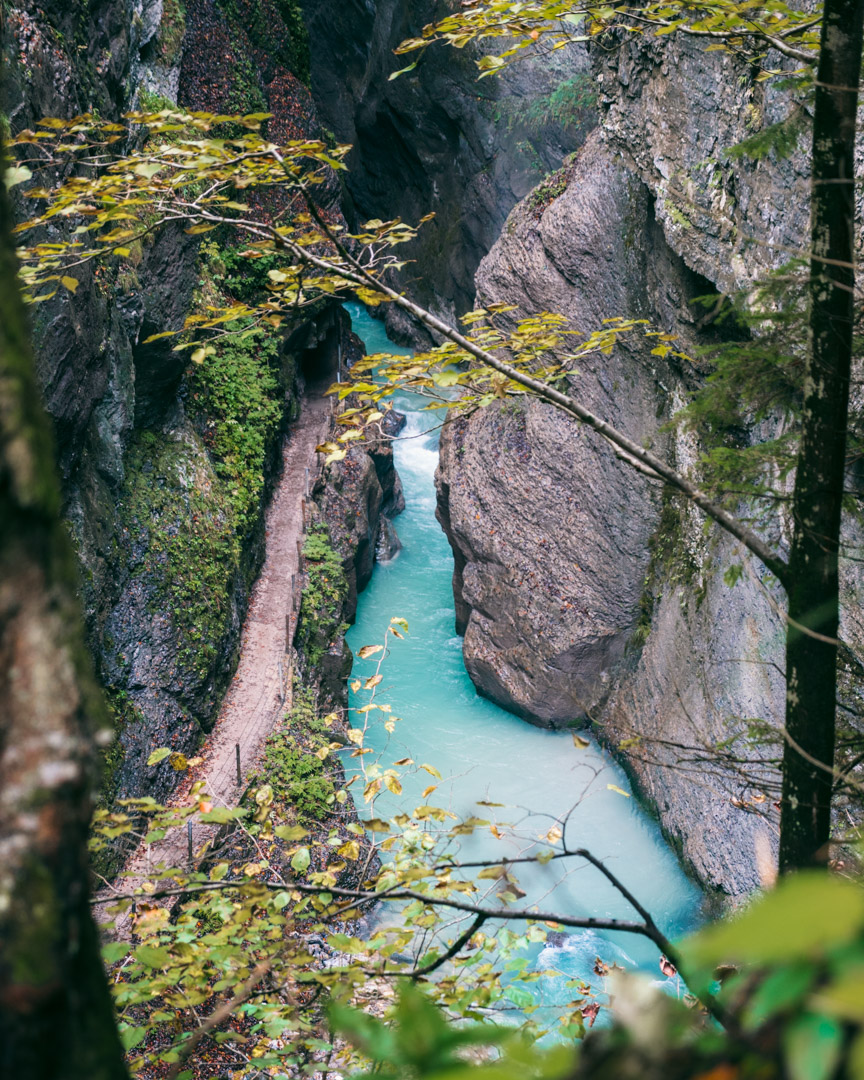 Hking the Partnach Gorge