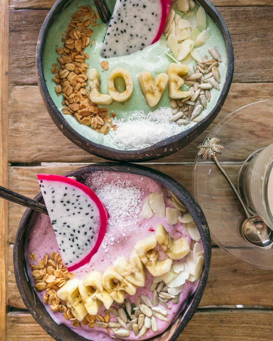 Simply the best smoothie bowls
