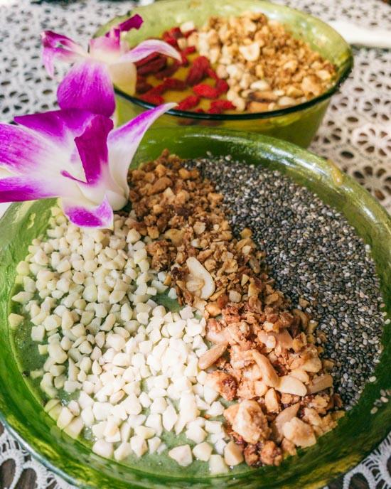 Smoothie bowls from Art Café