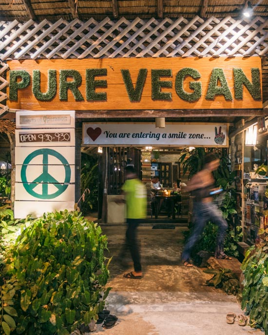 Peace and love at Pure Vegan Heaven