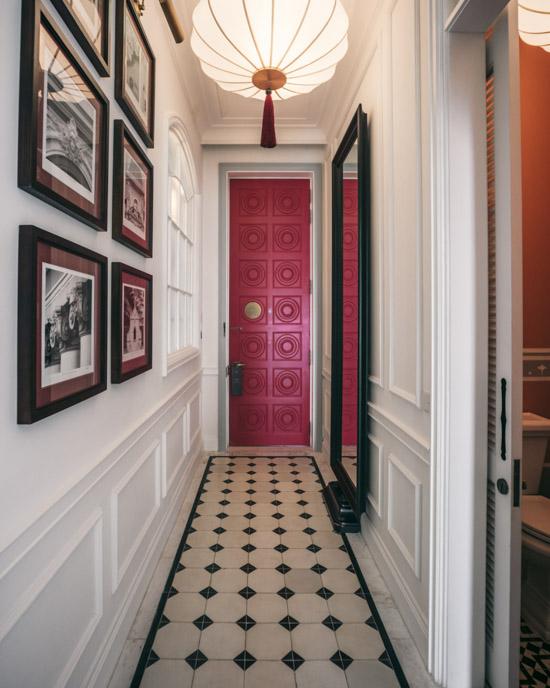 Hallway at JW Marriott