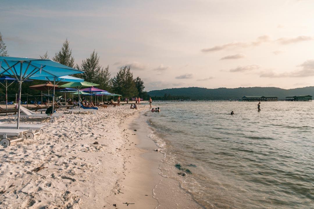 The famed Starfish Beach