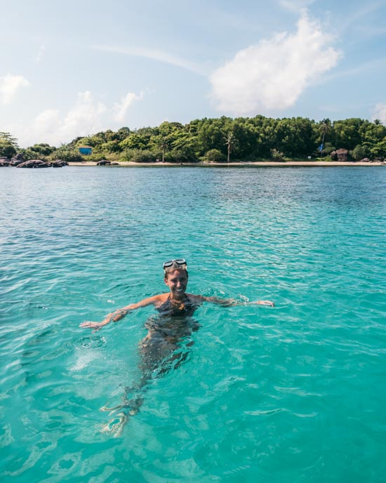 Victoria snorkelling