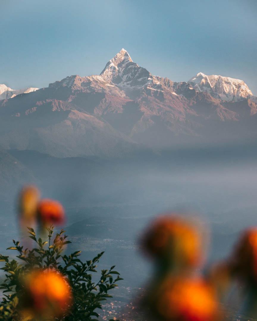 Fishtail Mountain in Nepal