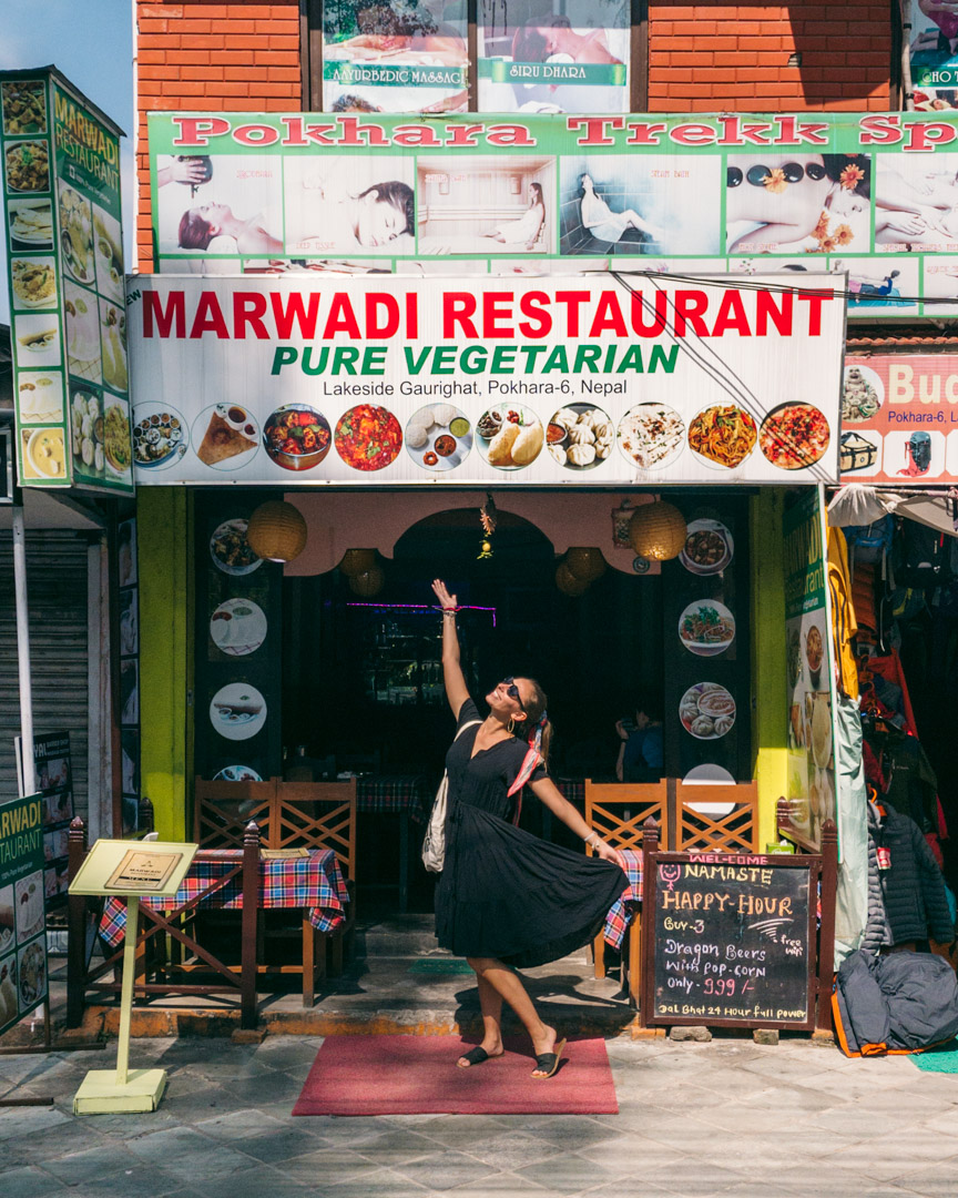 Pure veg at Marwadi Restaurant