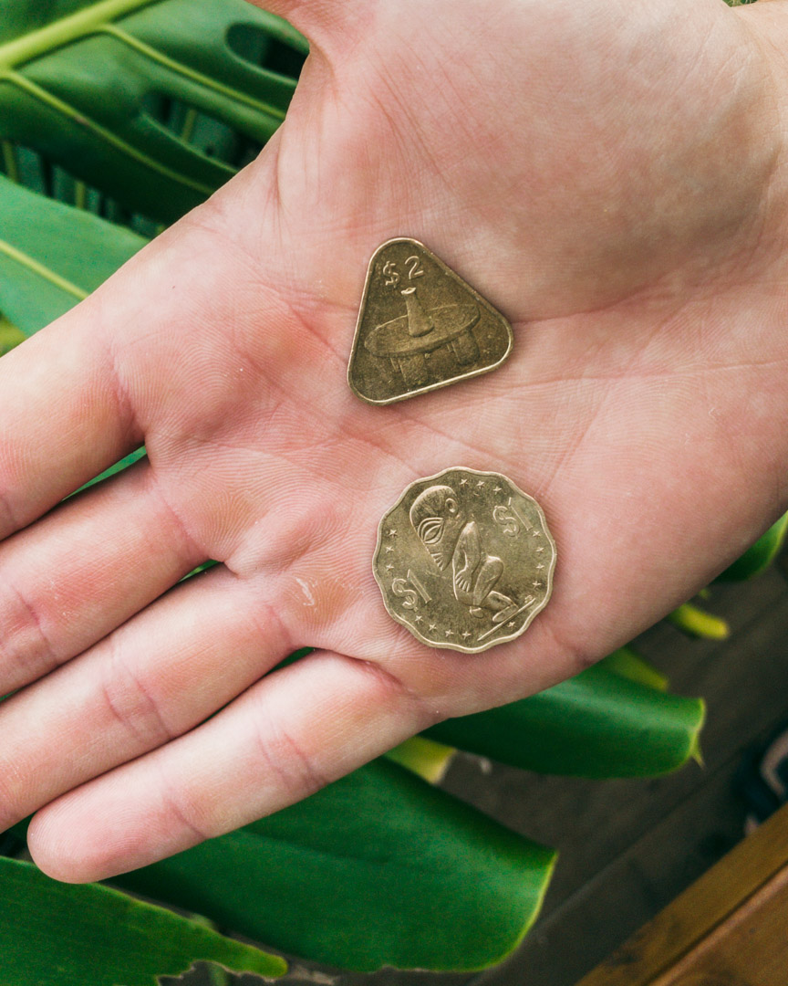 Coins in the Cook Islands