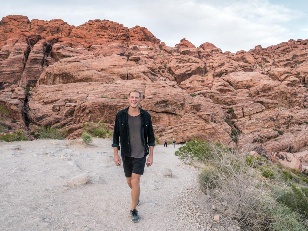Alex in Red Rock Canyon