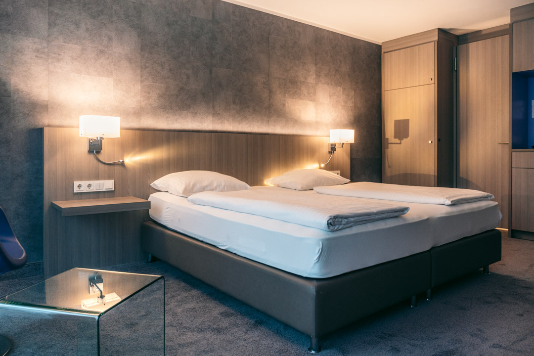 Bed at Relexa Hotel Munich