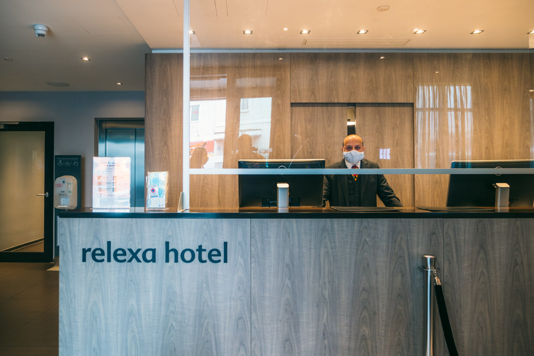 Reception at Relexa Hotel