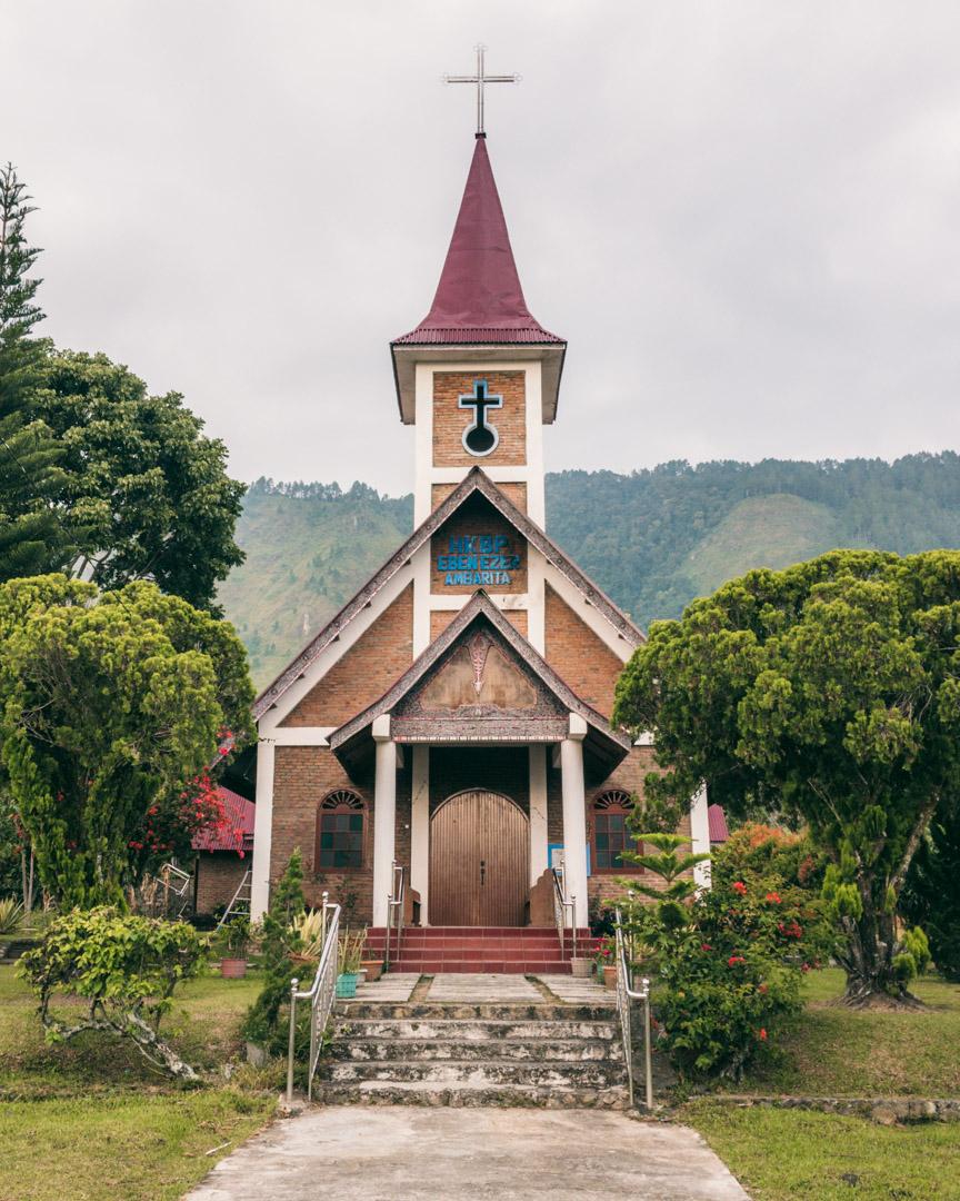 HKBP Eben Ezer church on Samosir