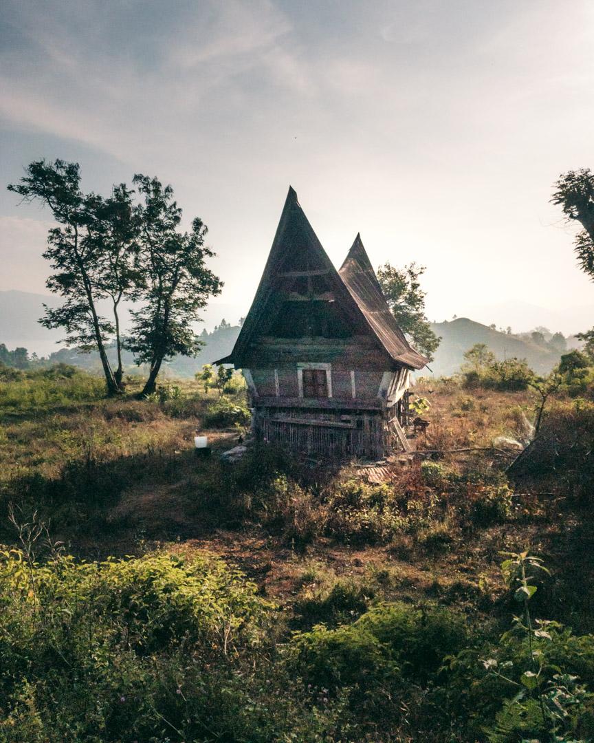 Local house on Samosir