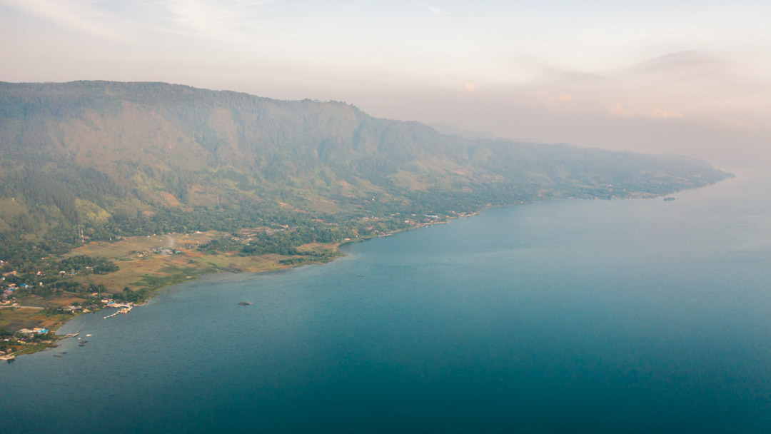 Samosir Island's eastern side