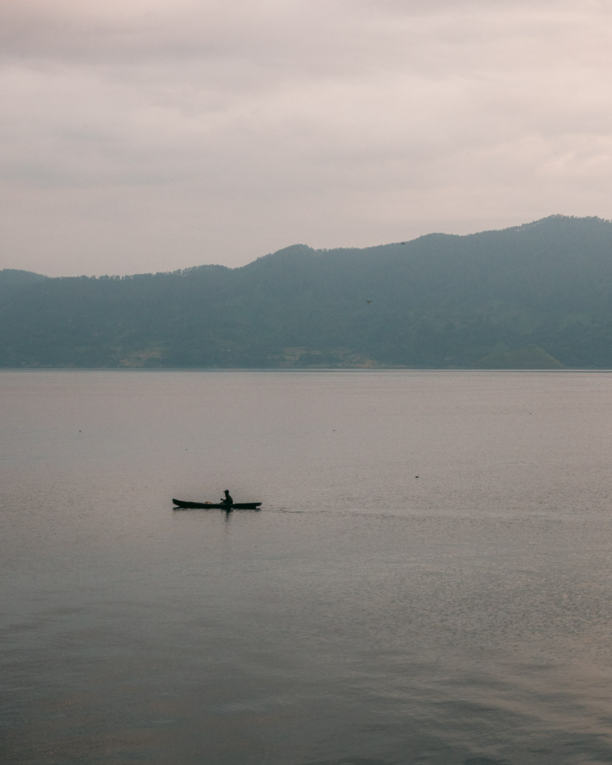 Early morning at Lake Toba
