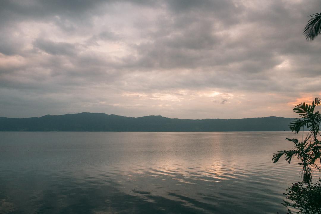 Sunrise from Samosir