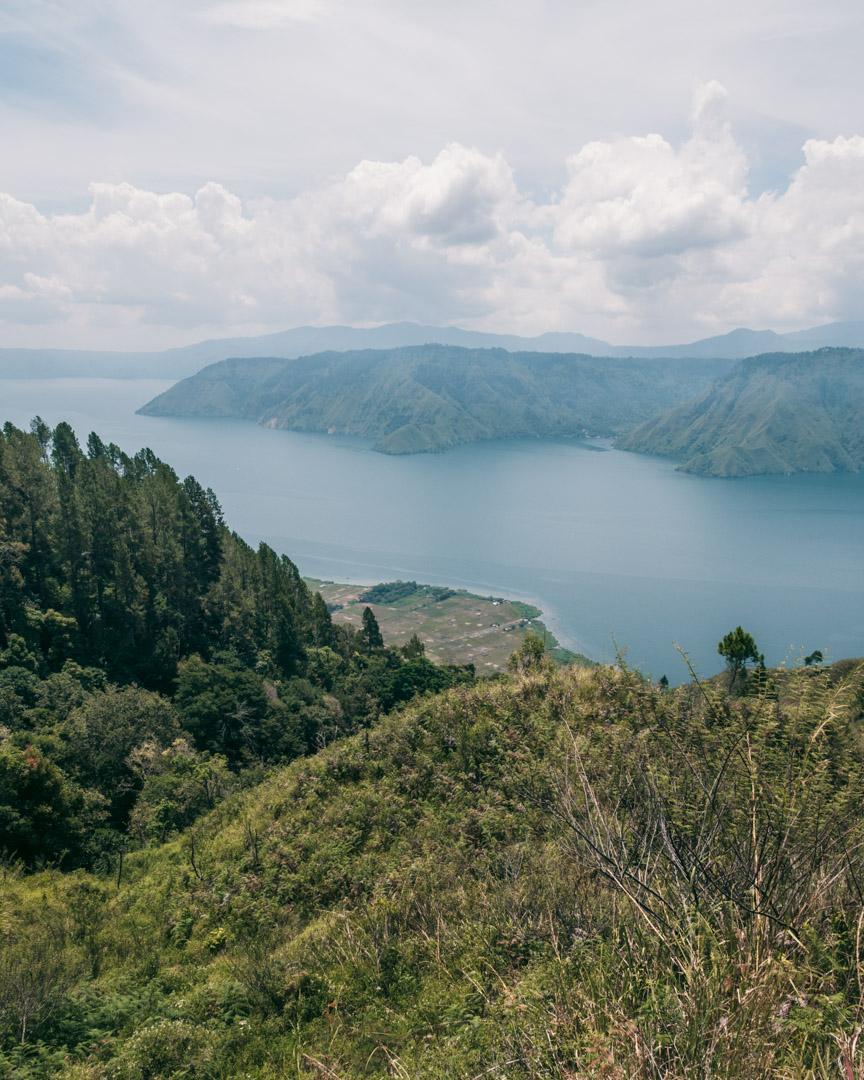 Lake toba viewpoint