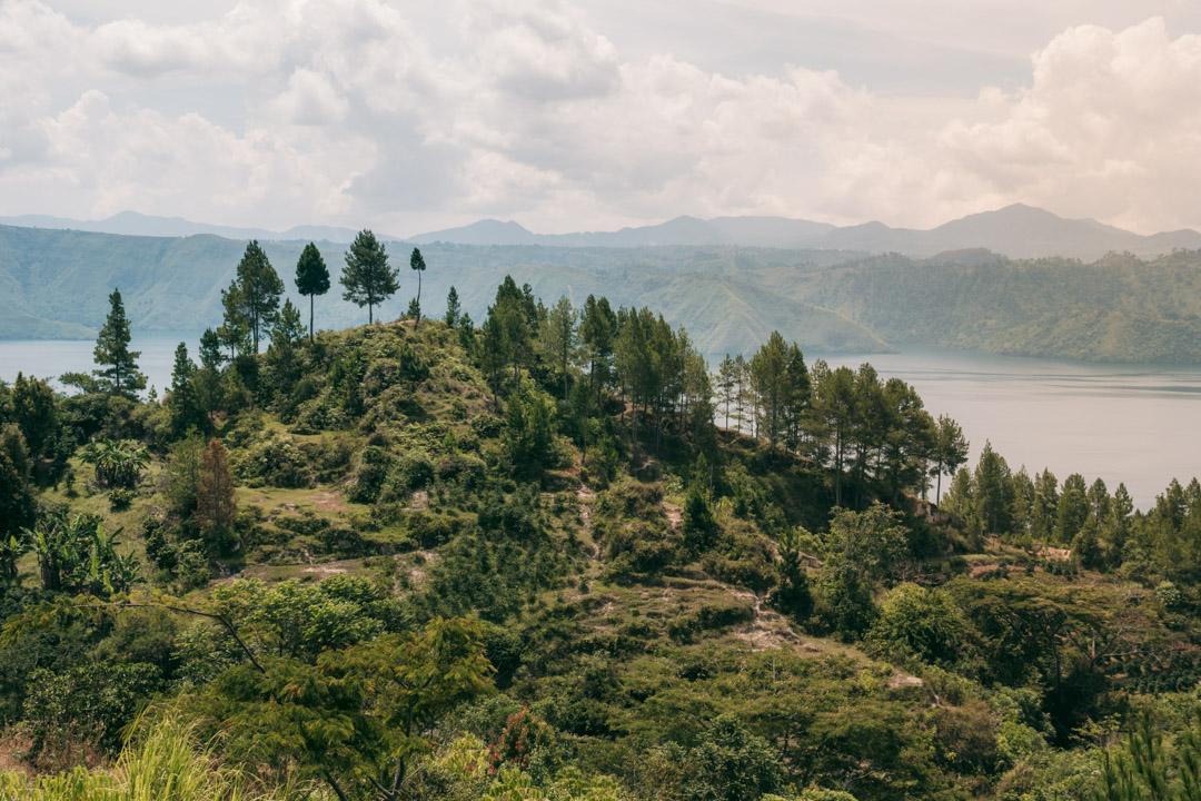 Alpine landscape on Samosir