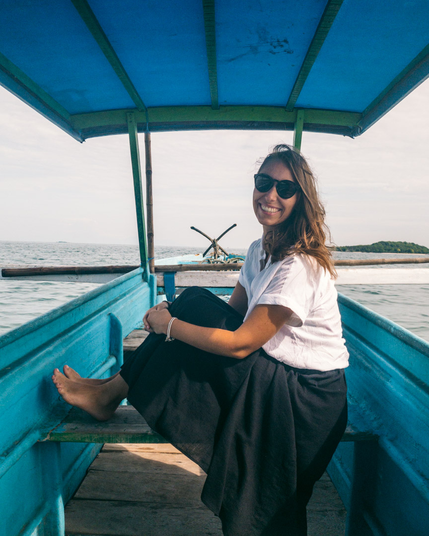 Boat tour to the Secret Gili Islands Lombok Indonesia