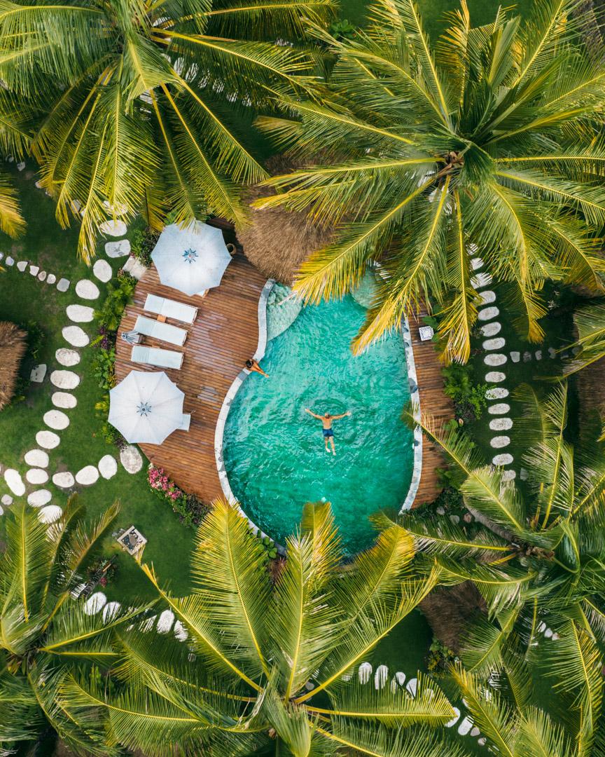 Where to stay in Kuta Lombok Indonesia: Mana Retreat