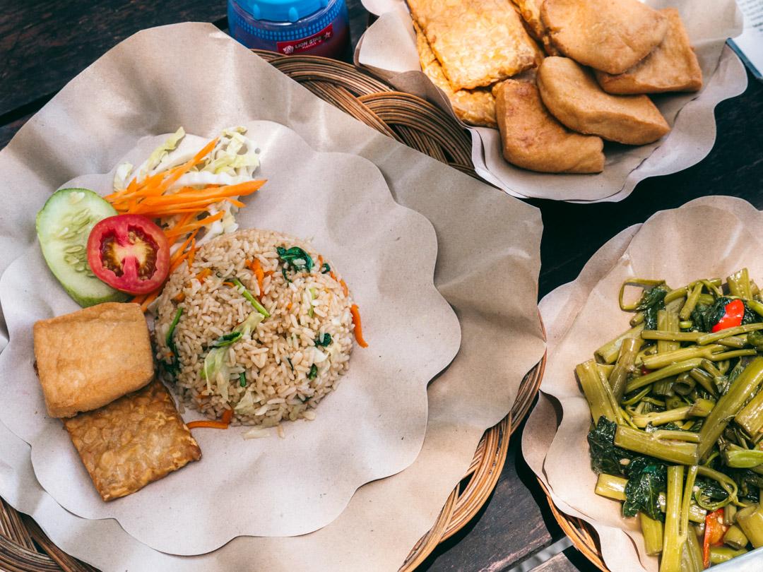 Food on Gili Sudak Island Lombok Indonesia