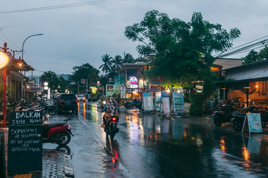 Kuta Town Lombok Indonesia